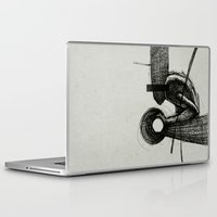 scott pilgrim Laptop & iPad Skins featuring Pilgrim I. by Dr. Lukas Brezak