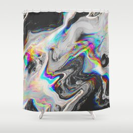 Psychedelic Shower Curtains