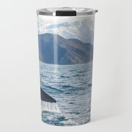 Diving Whale Travel Mug