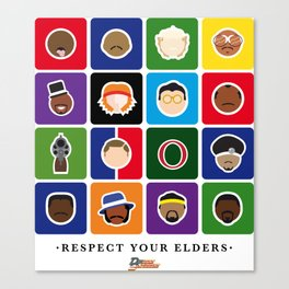Respect Your Elders Canvas Print