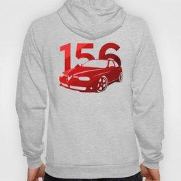 Alfa Romeo 156 - classic red - Hoody