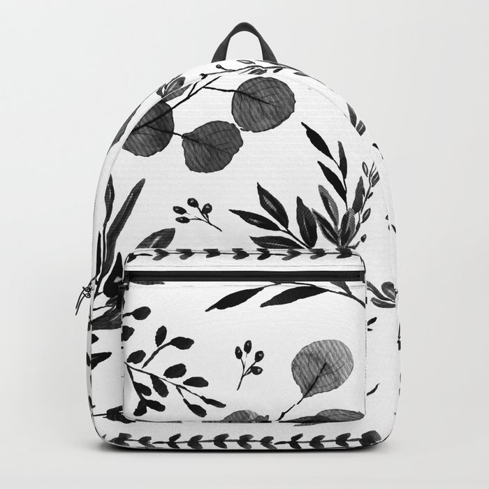 Black and white scence Backpack