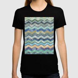 Watercolor Colorful Wave T-shirt