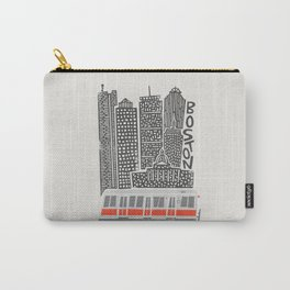 Boston City Illustration Carry-All Pouch