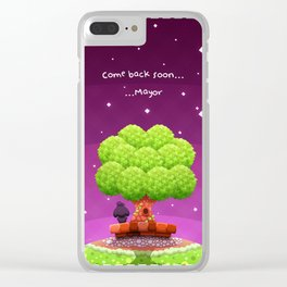 Animal Crossing Clear iPhone Case