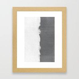 WALL TEXTURE Framed Art Print