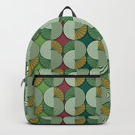 Geometric patterns in interior design and decoration Backpack