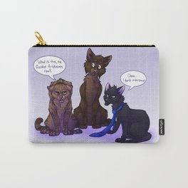 Supernatural Cats Carry-All Pouch
