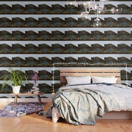 Blue relaxation Wallpaper