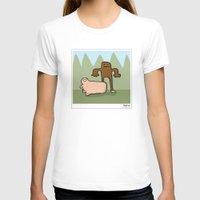 bigfoot T-shirts featuring Bigfoot by Masonic Comics