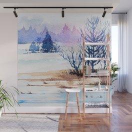 Winter scenery #13 Wall Mural