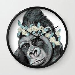 Lovely Gorilla Wall Clock