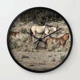 Safeguard This Tiny Foal Wall Clock