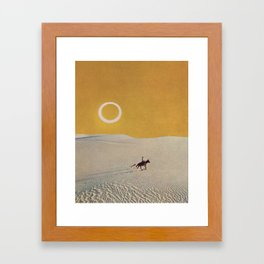 Salinero Framed Art Print