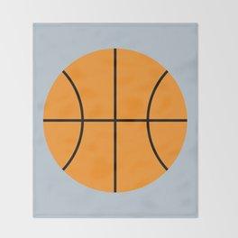 #9 Basketball Throw Blanket