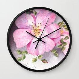 Rose 7 Wall Clock