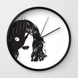Yekaterina Petrovna Zamolodchikova Black&White Wall Clock