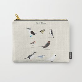 Dirty Birds Carry-All Pouch