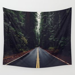 The woods have eyes Wall Tapestry