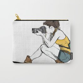 Photograph in the making Carry-All Pouch