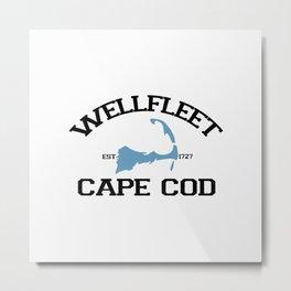 Wellfleet, Cape Cod Metal Print
