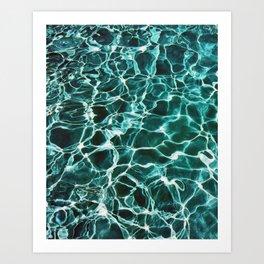 Waiting For Summer #society6 #decor #buyart Art Print