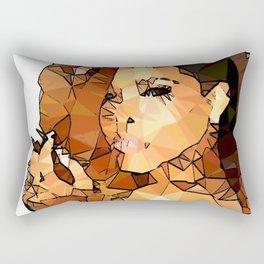 ICONS: Rihanna2 Rectangular Pillow