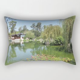 CHINESE GARDEN at The Huntington Rectangular Pillow