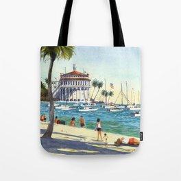 Avalon, Catalina Island Tote Bag