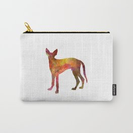 Ibizan Hound in watercolor Carry-All Pouch