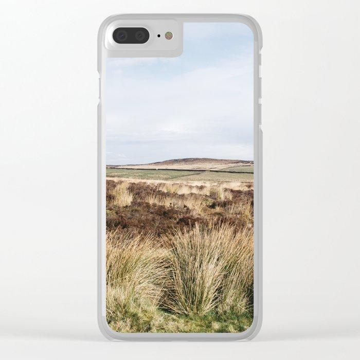 Footpath on Curbar Edge. Derbyshire, UK. Clear iPhone Case