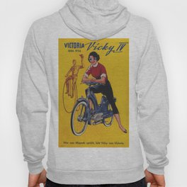Vintage poster - Moped Hoody