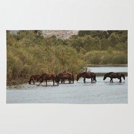Wild Horses Rug