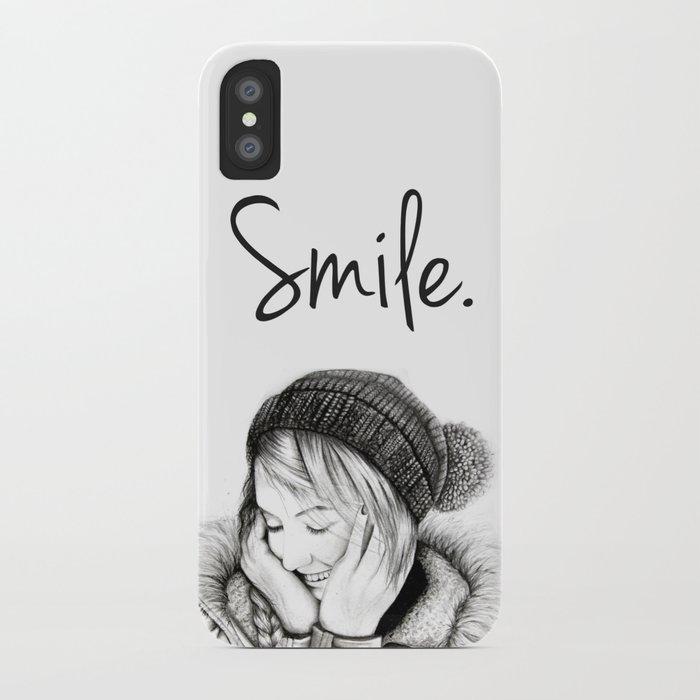 Smile. iPhone Case
