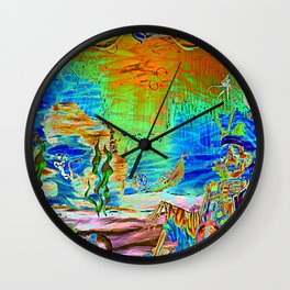 A Pirate's Life For Me-Electric Wall Clock