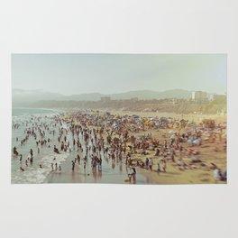 People Watching Santa Monica Rug