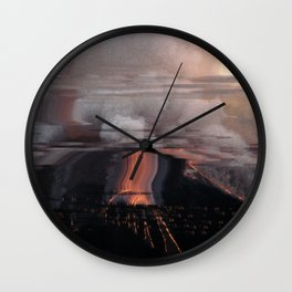 Eruptie Wall Clock