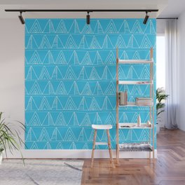 Triangles- Simple Triangle Pattern for hot summer days - Mix & Match Wall Mural