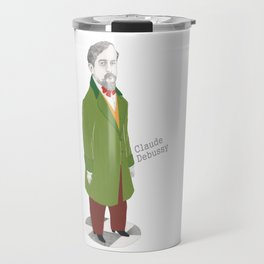Claude Debussy Travel Mug