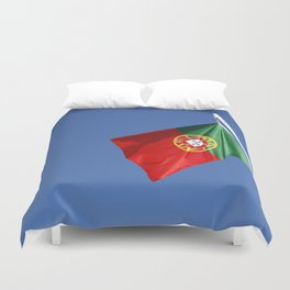 Portuguese national flag Duvet Cover