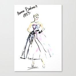 Ball Gawn Canvas Print