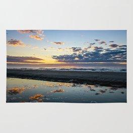Sunrise over Folly Beach Rug