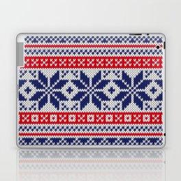 Winter knitted pattern 7 Laptop & iPad Skin