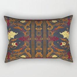 Victorian Vines Book Rectangular Pillow