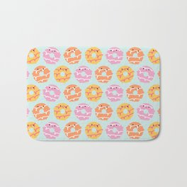 Kawaii Party Rings Biscuits Bath Mat
