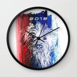 Chinese New Year - Dog Wall Clock