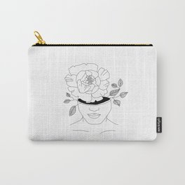 a girl who blooms from within Carry-All Pouch