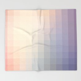 Lumen, Lilac and Violet Light Throw Blanket
