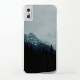 Canadian Rockies (2) Clear iPhone Case