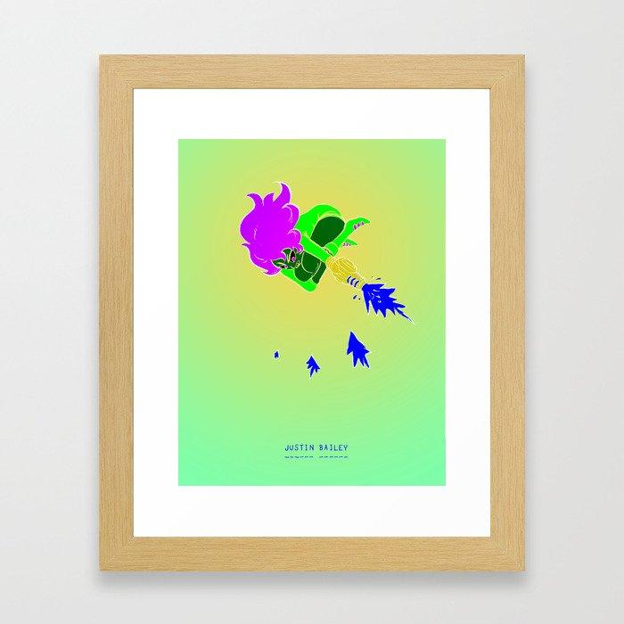 Justin Bailey  Framed Art Print